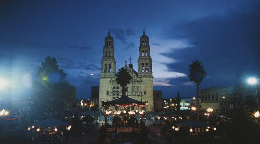 Am Zocalo in Chihuahua