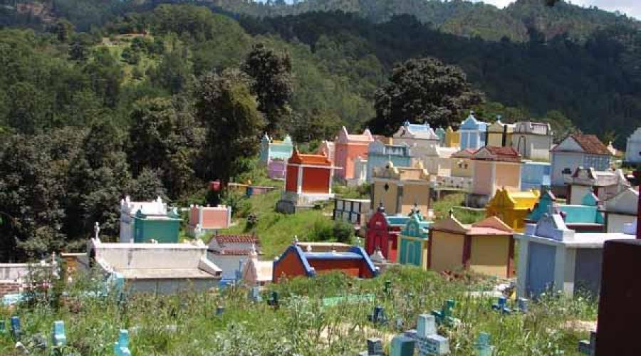Friedhof, Chichicastenango