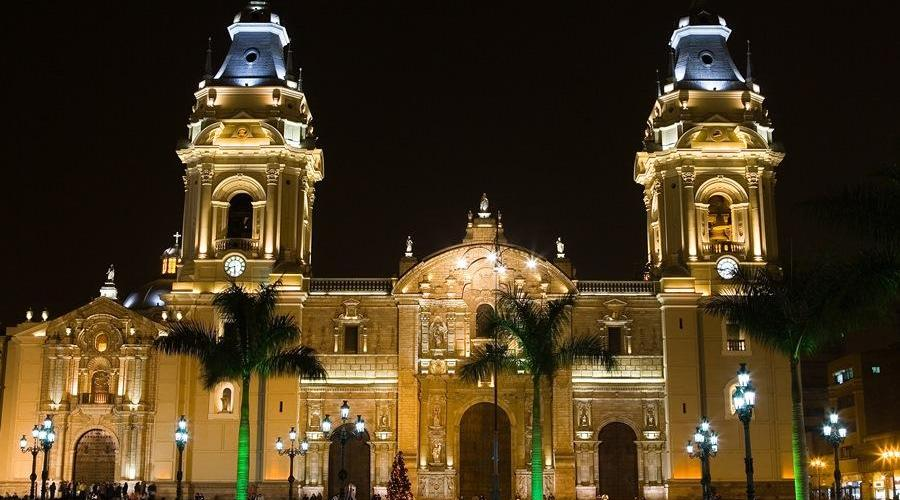 Kathedrale in Lima
