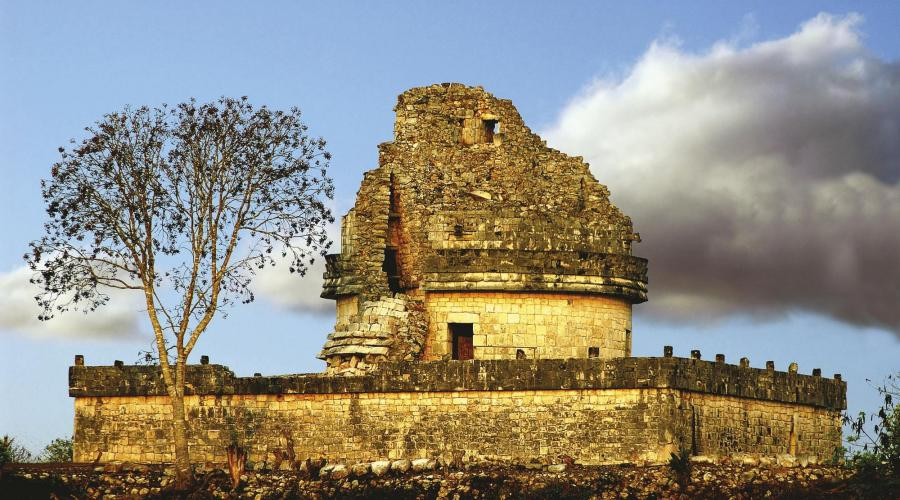 Oberservatorium in Chichen Itza