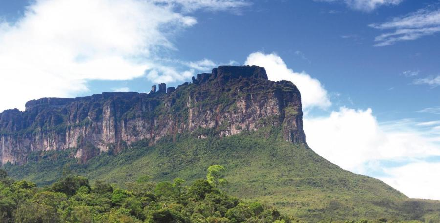 Panorama im Canaima-Nationalpark
