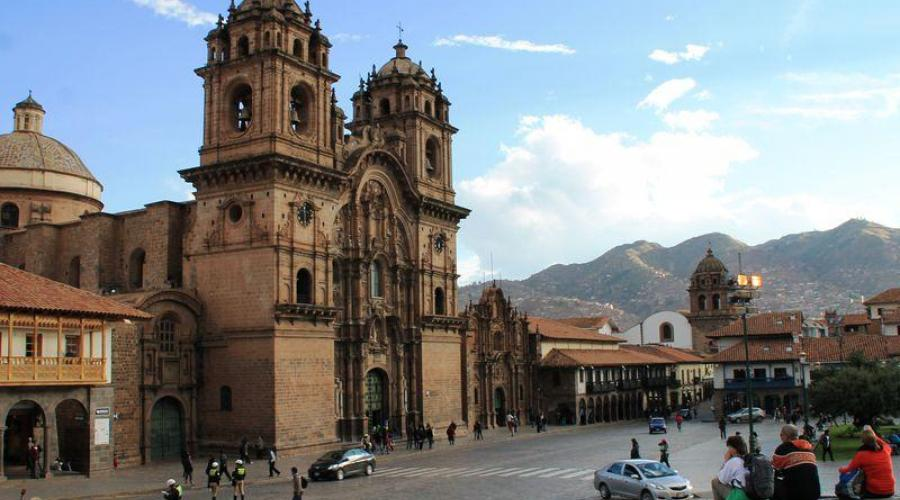 Platz in Cusco