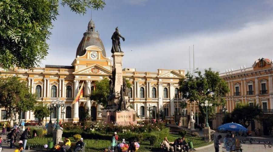 Plaza Murillo in La Paz