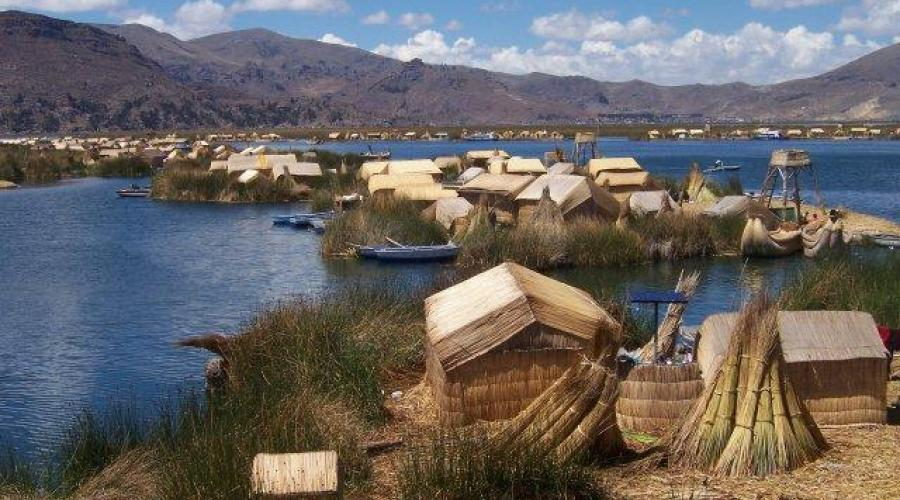 Uros-Inseln, Titicaca-See